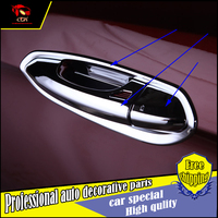 Car Styling High Quality ABS Outside Door Handle Bowl Cover For Ford Edge 2015 2016 2017