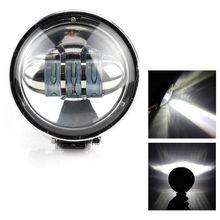 OKEEN 2019 Più Nuovo 4 pollici 72 W Rotondo Auto Luce del Lavoro del LED HA CONDOTTO LA Lampada Bar per il Motociclo Trattore Boat Off strada 4WD 4×4 Camion SUV ATV