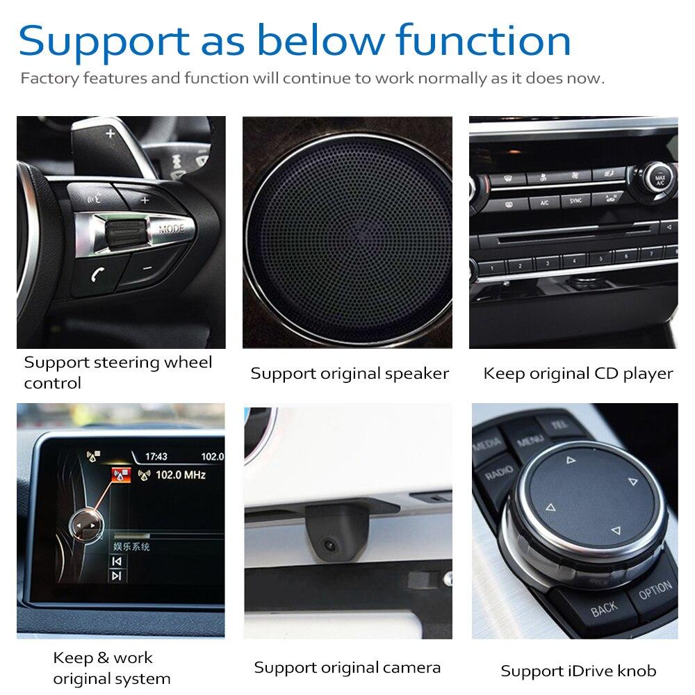 מערכת ניווט GPS DVD לרכב נגן עבור BMW X4 F26 2014 ~ 2017 המקורי NBT מערכת אנדרואיד 8.0 עד Autoradio ניווט GPS (4)