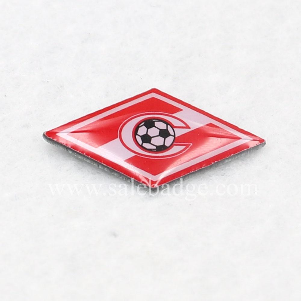 2 шт офсетная печать 18 мм футбольные значки