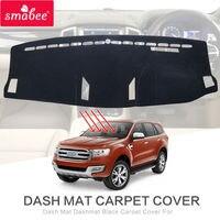 For FORD EVEREST SUV Duratorq 4DR 4x4 2015 2017 Dash Mat Dashmat Black Carpet Cover NON