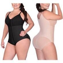 여성 슬리밍 바디 슈트 섹시 란제리 오픈 가랑이 허리 엉덩이 기중 장치 Shapewear 수정 플러스 크기 6XL Dropshipping 2020