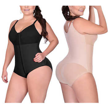 Women Slimming Push Up Bodysuit Sexy Lingerie Open Crotch Waist Butt Lifter Shapewear Corrective Plus Size 6XL Dropshipping 2019 - DISCOUNT ITEM  40% OFF All Category