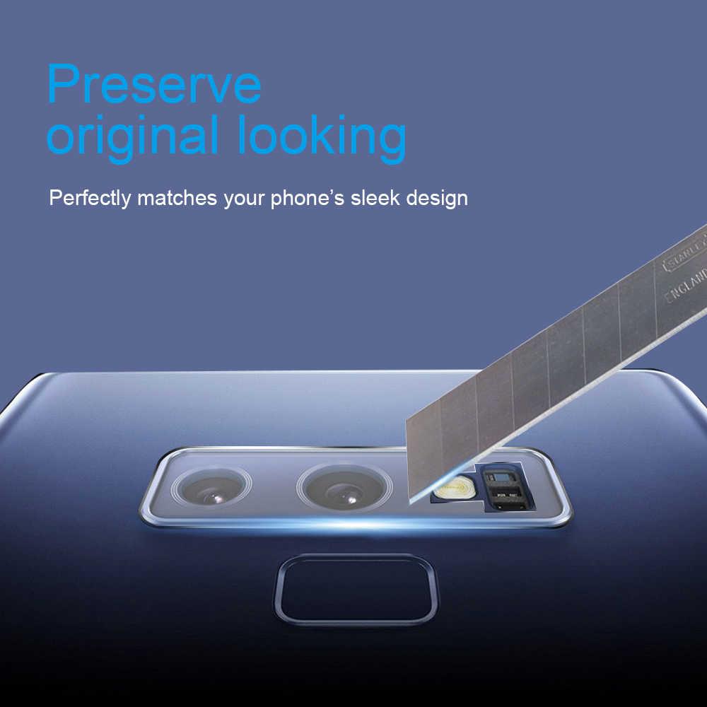 Ascromy لسامسونج غالاكسي ملاحظة 9 8 S9 زائد S8 S7 حافة S6 S 9 كاميرا خلفية حامي عدسة الزجاج المقسى غطاء الهاتف اكسسوارات