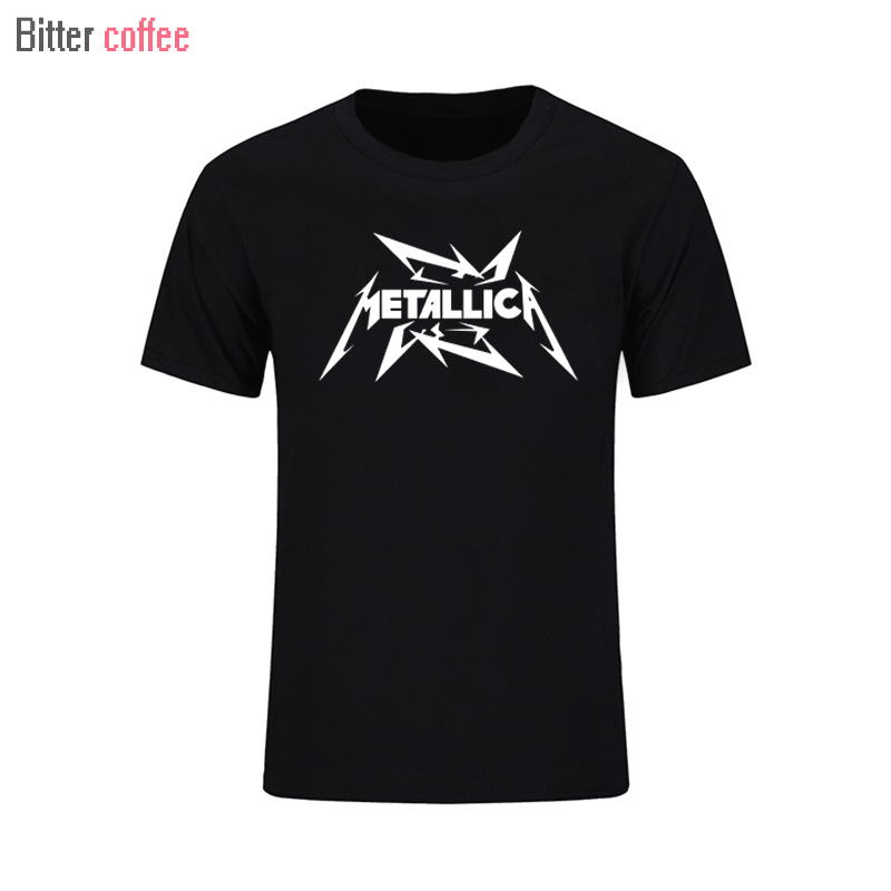 2017 Men's Heavy metal cultivate personality Metallica NIRVANA rock t shirts Funny Novelty hip hop rock t-shirts men T shirt