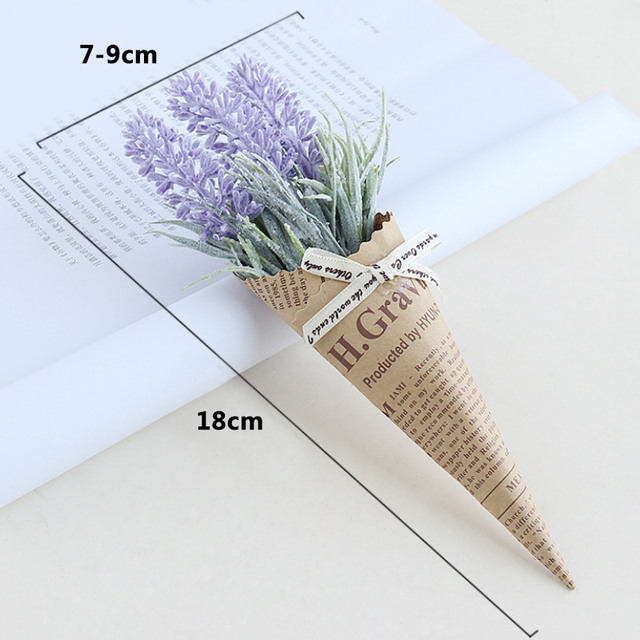 New Mini Paper tube Artificial Plants Wedding Flower Photo props bouquet flowers Birthday Present Home Decoration Fake Flowers 6