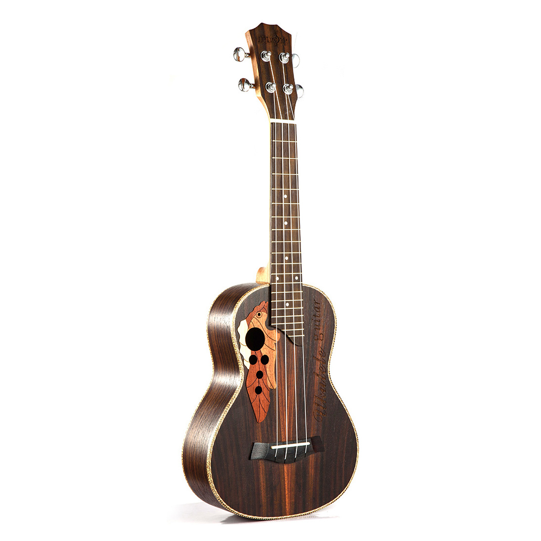 HLBY Soprano Concert Ukulele 23 inch rosewood uku Ukelele with 4 String mini Hawaii guitar Musical Instruments zebra 23 inch black rosewood fingerboard concert ukulele sapele hawaii ukelele guitarra bass guitar for musical instruments
