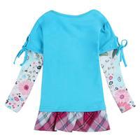 Girls Dresses Fashion Clothes Nova Brand Kids Wear Casual Children Clothing Spring Autumn Long Sleeve Dress