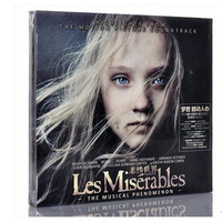 Free Shipping Soundtrack Various Artists Les Miserables Movie Soundtrack CD Sealed