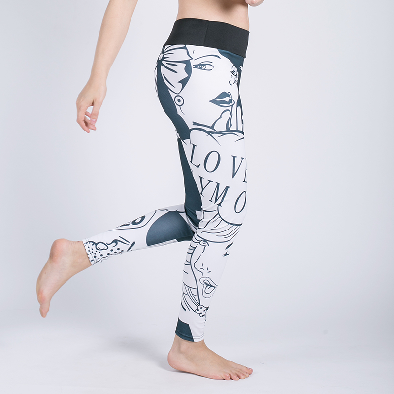 Sport Pants Sportswear Women Yoga Pants Fitness Leggings Compression Pants Female Yoga Sports Tights Lady Sports Yoga Leggings