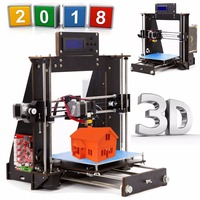 3D Printer Reprap Prusa i3 DIY MK8 LCD printer 3d Drucker Impressora Imprimante