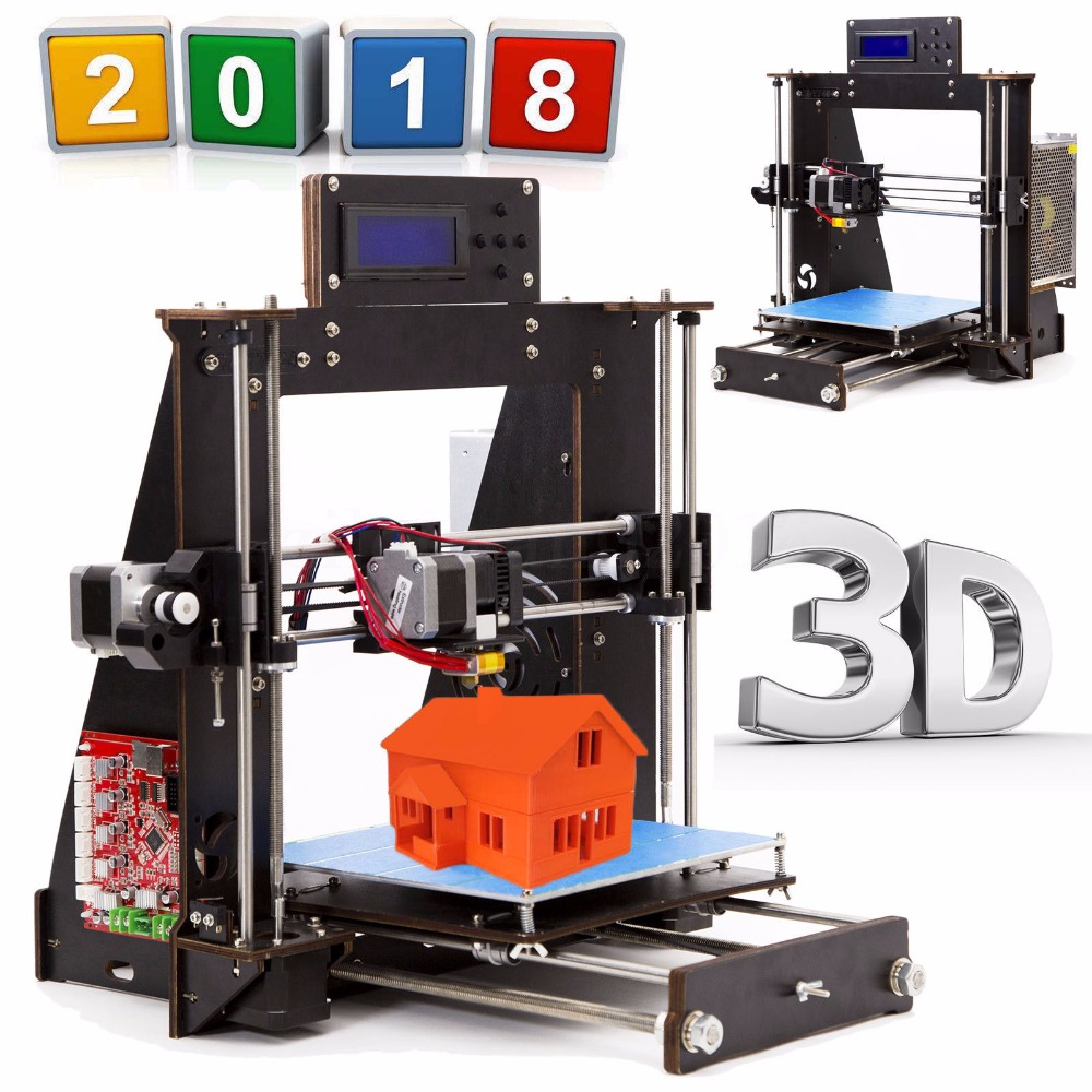 3D Imprimante Reprap Prusa i3 DIY MK8 LCD imprimante 3d Drucker Impressora Imprimante