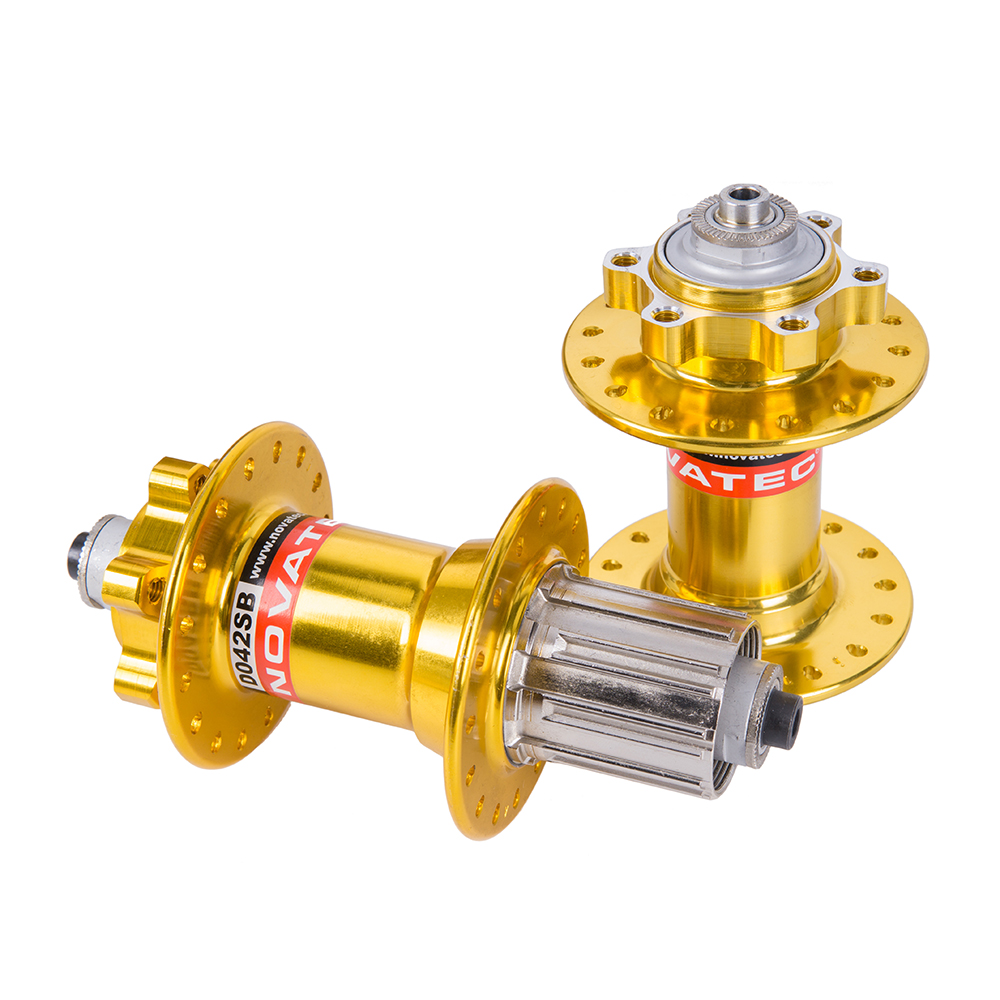 ZTTO Bicycle Hub D041SB/D042SB Gold Golden Disc Brake MTB Mountain Bearing Hub 32H Hole quick release QR