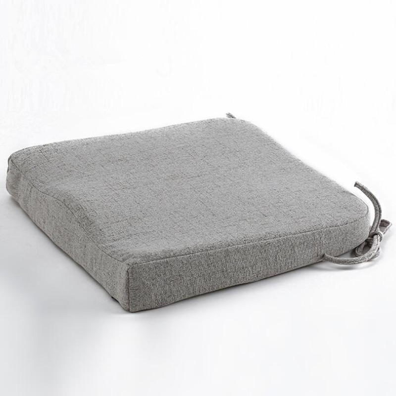 Natural Latex Seat Cushion Pad Soft Memory Rebound Chair Hip Pillow Mats Breathable Tailbone Coccyx Protect in Cushion from Home Garden