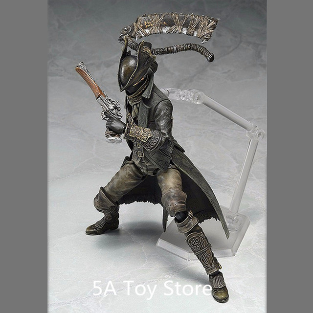 PS4 Bloodborne Games Figure Hunter Figma 367 PVC Action Figure Model Collection Toy Doll Gifts 15CM 1