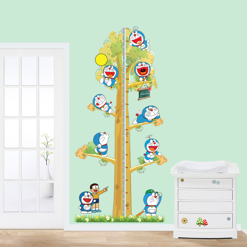 2pcs doraemon creative diy kids height chart wall stickers home 2pcs doraemon creative diy kids height chart wall stickers home decor modern baby nursery room wallpaper decal adesivo de parede in wall stickers from home amipublicfo Gallery