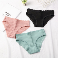 DEWVKV Women Panties Lady Underwear Breathable Briefs Sexy for Cotton Crotch Lingerie Intimates New Arrival 2019