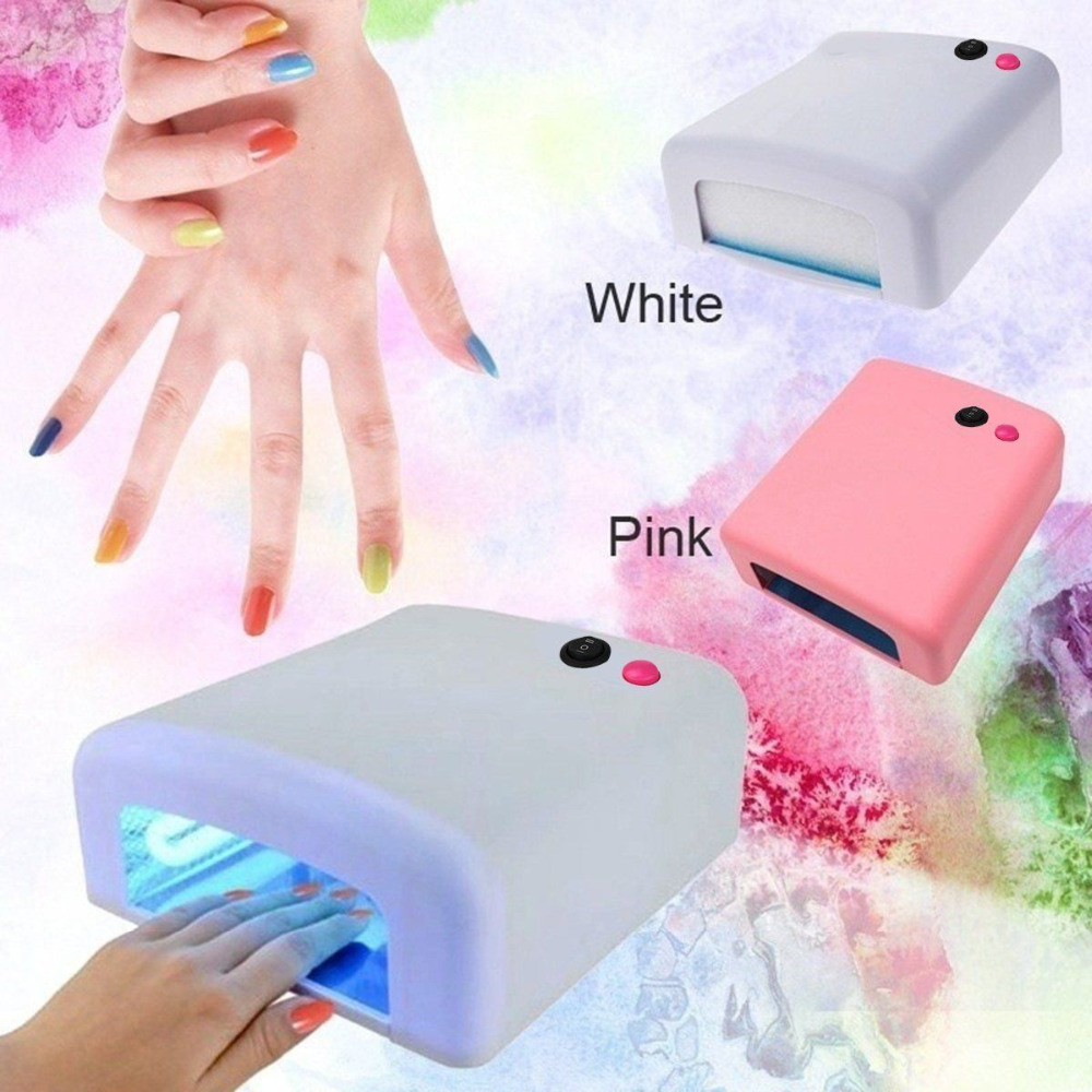 36W  LED  UV  Lamp  Light  Nail  Art  Dryer  Nail  Polish  Light  Gel  Drying  Curing  Machine
