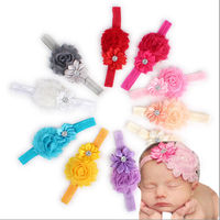 10PCs Set Kid Girl Baby Toddler Infant Flower Headband Hair Bow Band Accessories