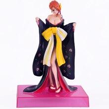 2 Styles 19CM One Piece Nami Kimono PVC Action Figure  Japanese Anime Nami Sexy Gold Kimono Model Toy Figurine Collectible Model