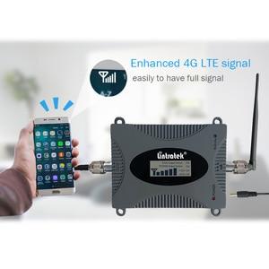 Image 4 - Lintratek GSM sinyal tekrarlayıcı 2G 900Mhz sinyal güçlendirici 65dB GSM 900Mhz cep telefonu amplifikatör Mini boyutu hiçbir antenler lcd ekran