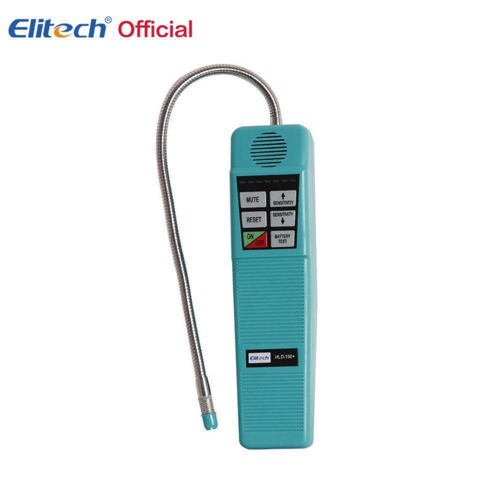 100 Original Elitech Halogen gas tester Refrigerant Halogen Leak Leak Detector Tester R134a R410a R22 R600a