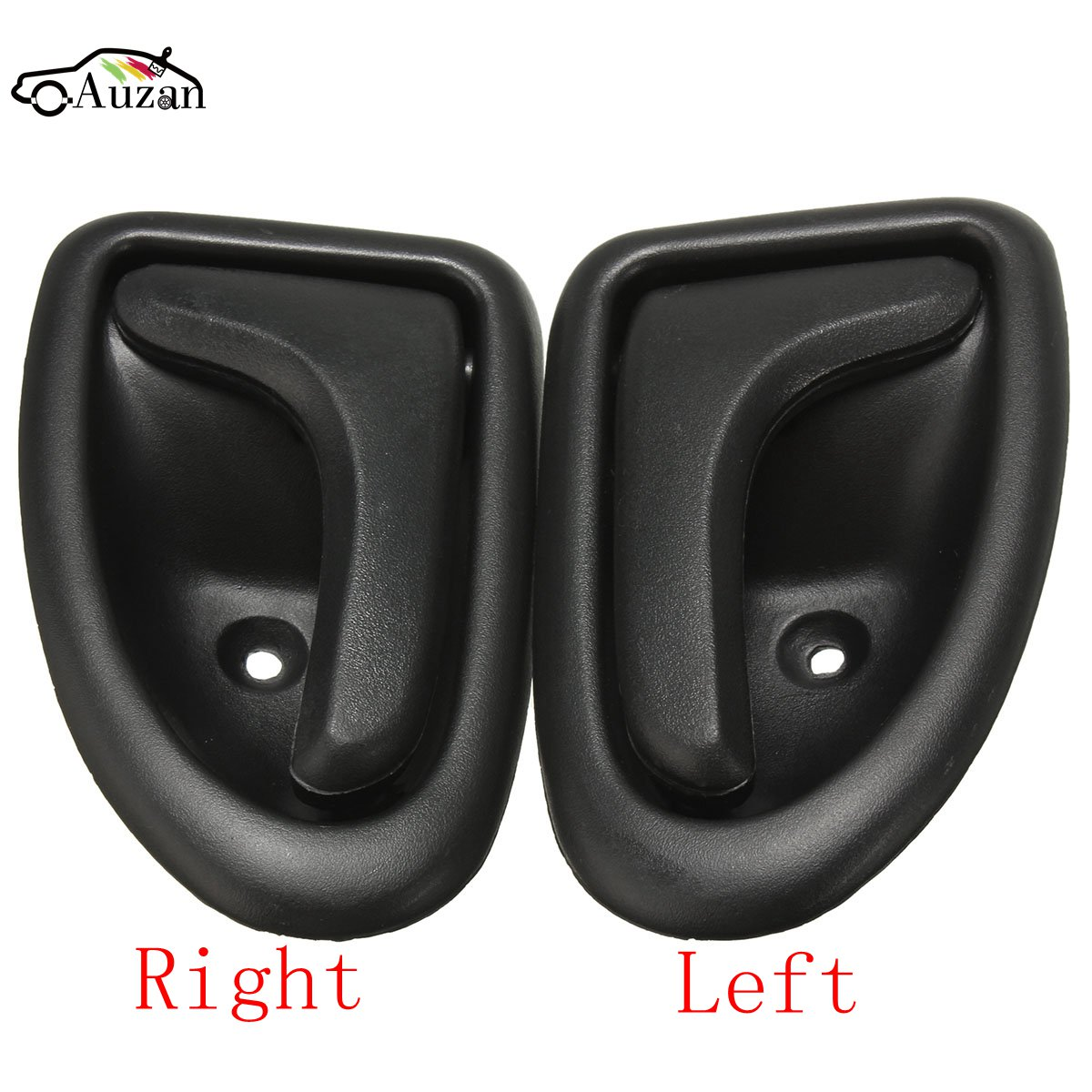black left right side car interior door handle knob hand handles for renault clio 1999 up scenic. Black Bedroom Furniture Sets. Home Design Ideas