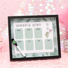 Birthday Gift For Boyfriend Creative Memory Board Pink Blue Week Planning Erasable Back To School Wedding Gifts Guests
