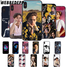 WEBBEDEPP TV Riverdale Jughead Jones Soft Case for iPhone 5 5S 6 6S 7 8 Plus X XS 11 Pro MAX XR Cover(China)