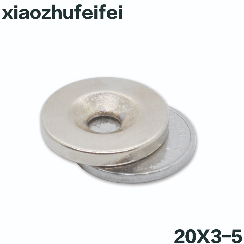 1Pc Super Strong Rare Earth Round Neo Neodymium Disc Ring Magnet Eyebolt