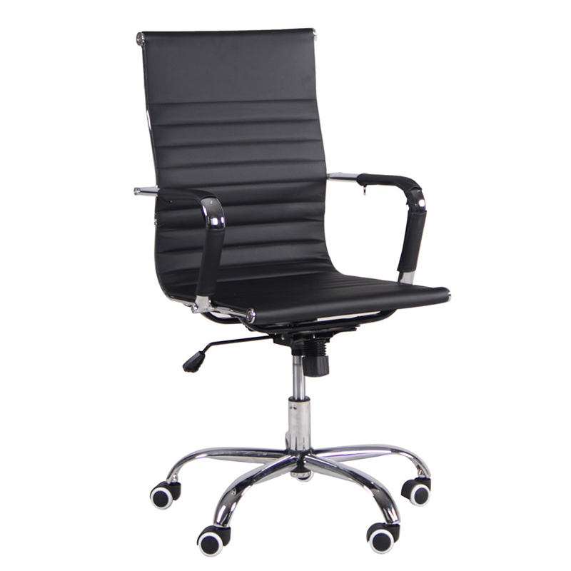 PU Office Chair Gas Lift High Back Swivel Chair HOT SALE