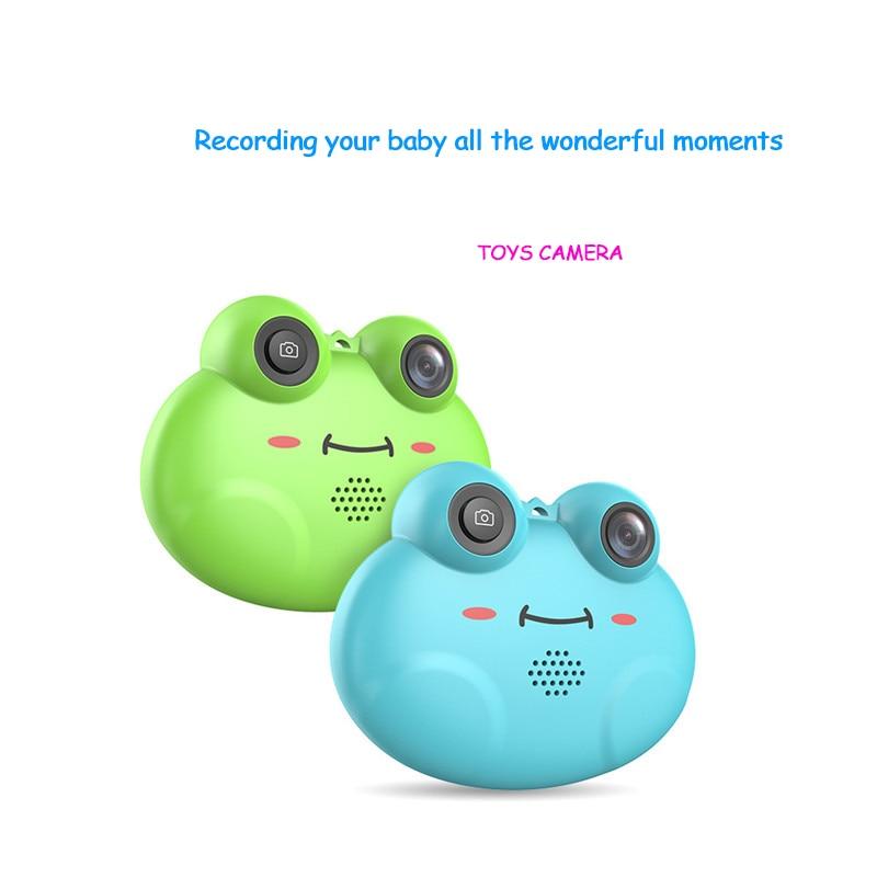 Jouet caméra numérique ABS dessin animé mignon enfants éducation mini caméra jouets 2.0 pouces enfants cadeau d'anniversaire créatif nouveau style