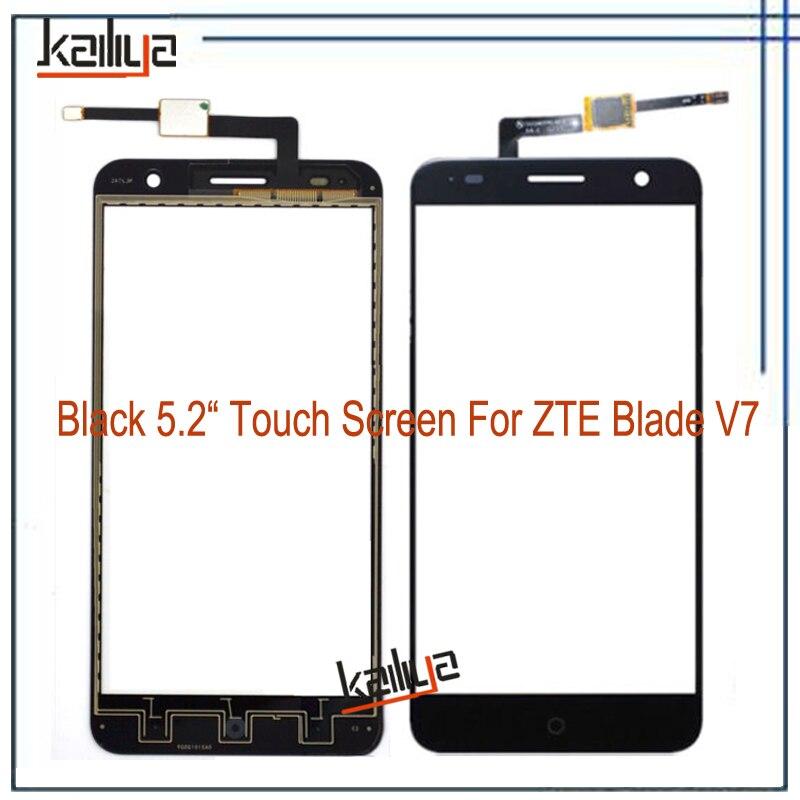 Heißer Verkauf Für ZTE Blade V7 Display Touchscreen Mit Digitizer vorder Touch Panel Ersatz Schwarz 5,2 Zoll Für ZTE V7 Bildschirm