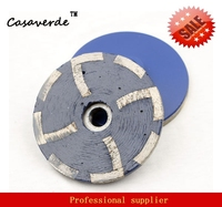 DC RCW50 D100mm 4 Inch Resin Filled Fine Grit Diamond Grinding Cup Wheels For Grinding Stone