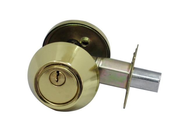 Door Hardware Iron Tubular Lever Door Locks / Deadbolt Invisible Locks D101 Glod Plated ospon sliding door locks invisible door