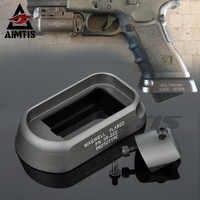 AIMTIS Tactical ALG Defense Magwell For Pistol Airsoft Gen3 Glock 17 18C 22 24 31 35 Handgun Speed Reloading Magazine Loader