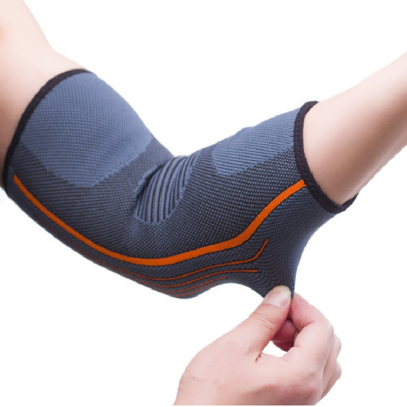 Breathable Elbow Support Basketball Football sports safety volleyball elbow pad Elastic Elbow Supporter knee protect