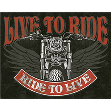Ride Vintage Metal Plate Tin Signs Wall Poster Decals Painting Bar Club Pub Home Decor 30*20cm 1001(1113)