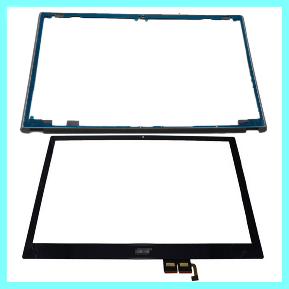 NEW 15.6 For Acer Aspire V5-571 V5-571P V5-571PG V5-531P Touch Screen Digitizer Glass Replacement +Frame 15 6 laptops replacement touch screen for acer aspire v5 571 v5 571p v5 571pgb without display