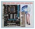 Для Настольного Компьютера для Intel X58 материнская плата x58 новый 1366 иглы