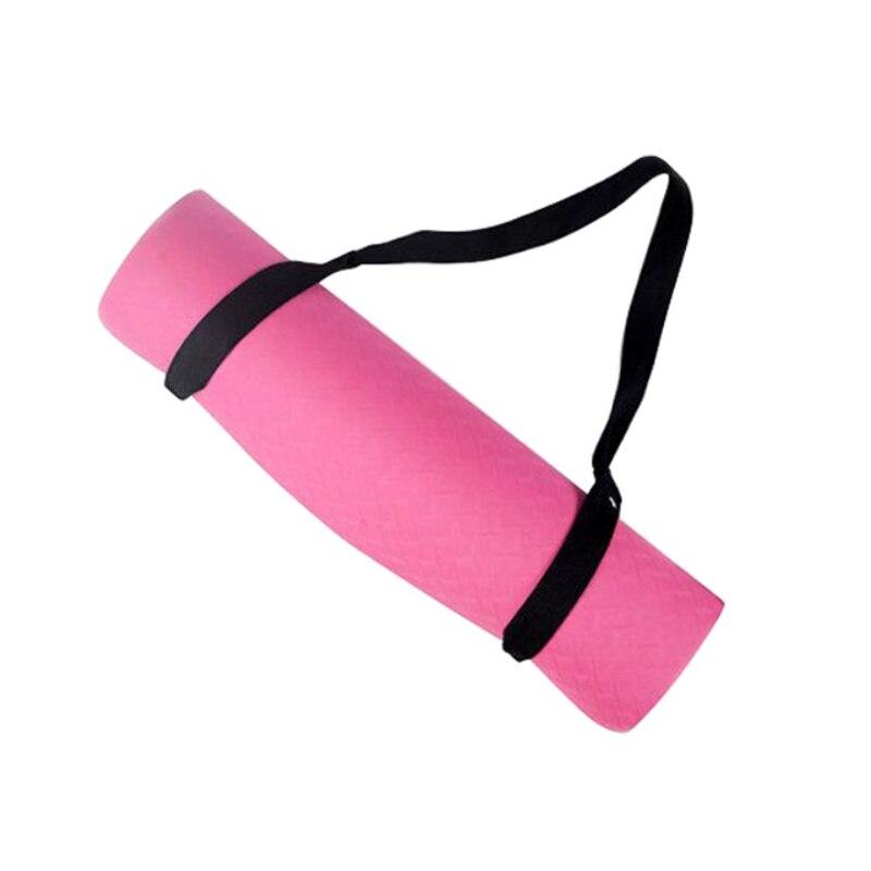 Training Mat Strap: New Elastic Cotton Non Slip Yoga Mat Sling Strap