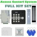 DIYSECUR Impermeable 125 KHz Rfid Lector de Tarjetas Teclado de Contraseña + 180 kg Cerradura Magnética de Control de Acceso de Seguridad Kit KS159