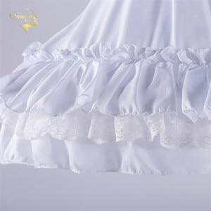 Image 5 - Czarna moda biała suknia balowa podkoszulek huśtawka na krótką sukienkę halka Lolita baletowa spódniczka tutu spódnica Rockabilly krynolina