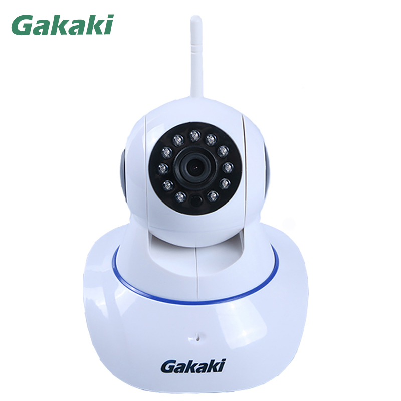 Gakaki Home Wifi Camera P2P Network Surveillance Night Vision HD Camera Baby Monitor CCTV Camera Support Linkage Alarm Function gakaki hd wifi ip camera baby monitor p2p wireless network surveillance night vision cctv camera support motion detection alarm