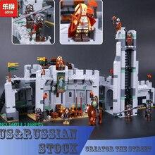 Lepin 16013 1368 Unids de El Señor de los Anillos La Batalla De Helm' Profundo Modelo Building Blocks Juguetes de Los Ladrillos 9474