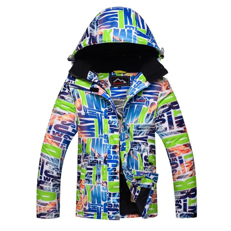 Ski Jacket Men Women Waterproof Fleece Snow Jacket Thermal Coat For Outdoor Mountain Skiing Snowboard Jacket Plus Size Brands