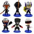 Novo anime brinquedos funko pop yasuo leona lol fiora zed MESTRE YI LUCIAN Modelo Figuras 10 cm PVC Figuras de Ação Colecionáveis brinquedos