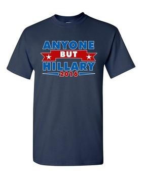 ¡Nuevo estampado 2019! Camiseta para niños, Camiseta de algodón, pero Hillary 2016 para la campaña del Presidente DT para adultos