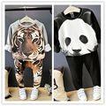 New 2016 3D Clothing For Baby Girls Fashion Tiger Panda Design boys winter Sets 1-6Yrs Infant Toddler chidren sets long sleeve
