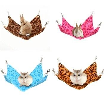 Hamster hangmat cobaia porco chinchila coelho gaiola para animais de estimação dormir rede coelho chinchila ouriço rato pendurado cama acessórios